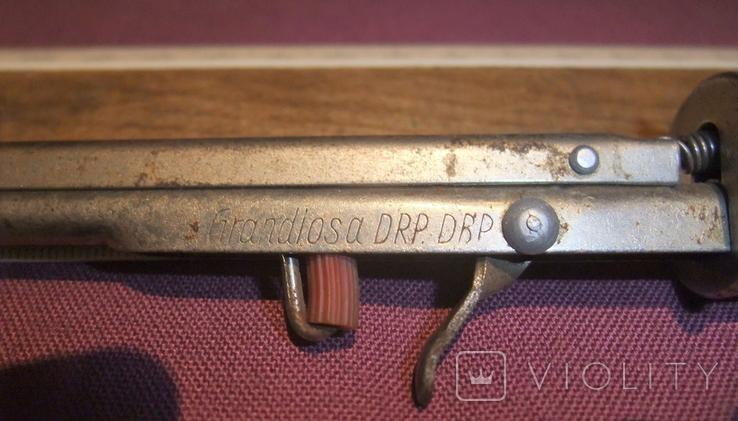 Зажигалка GRANDIOSA DRP. DBP кремниевая Германия 40 - 50 годы., фото №5
