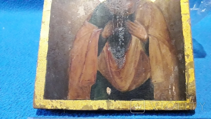 Икона старая Гликерий, фото №4
