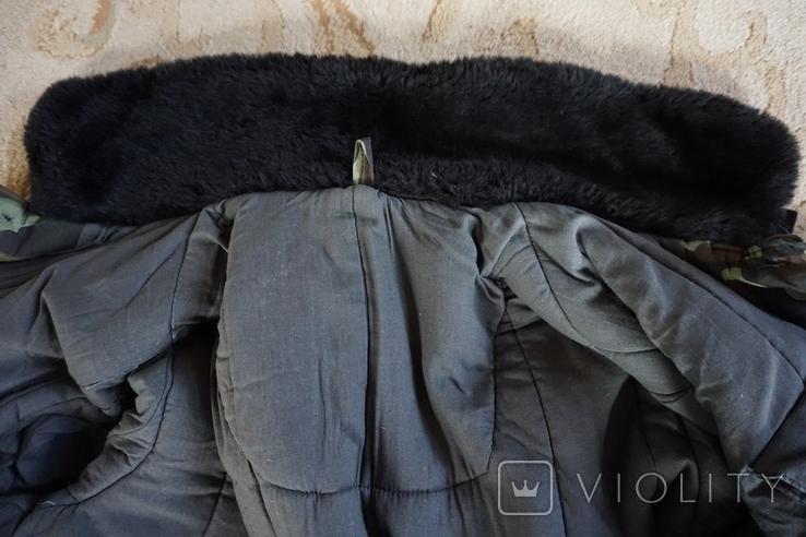 Бушлат зимний камуфлированный, фото №11