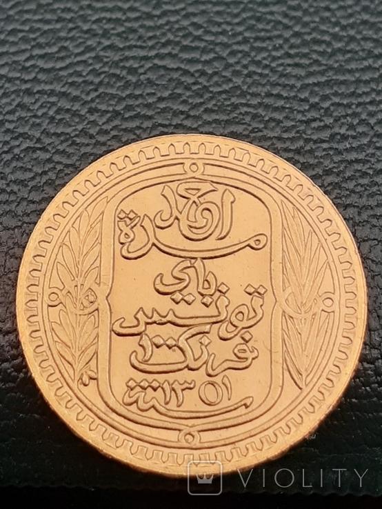 100 франков 1932. Тунис., фото №7