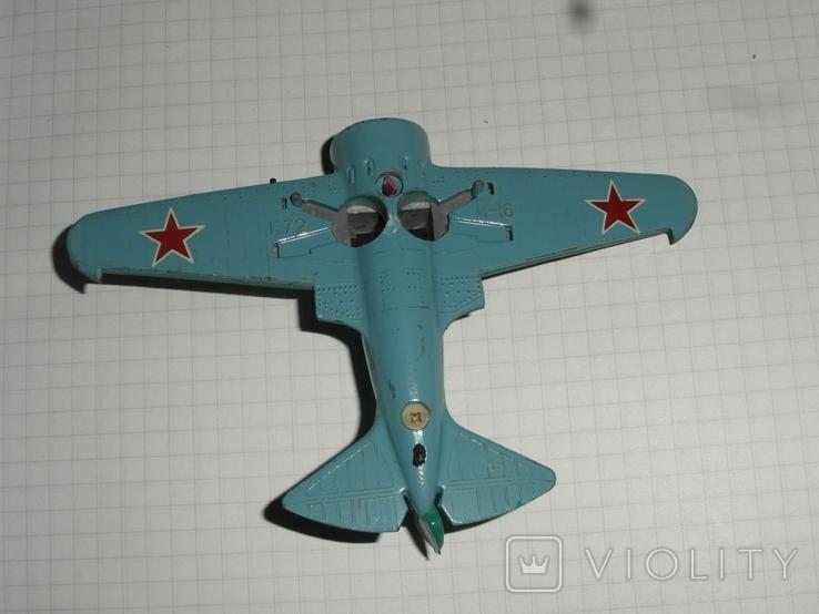 Самолёт И-16.металл.СССР, фото №4