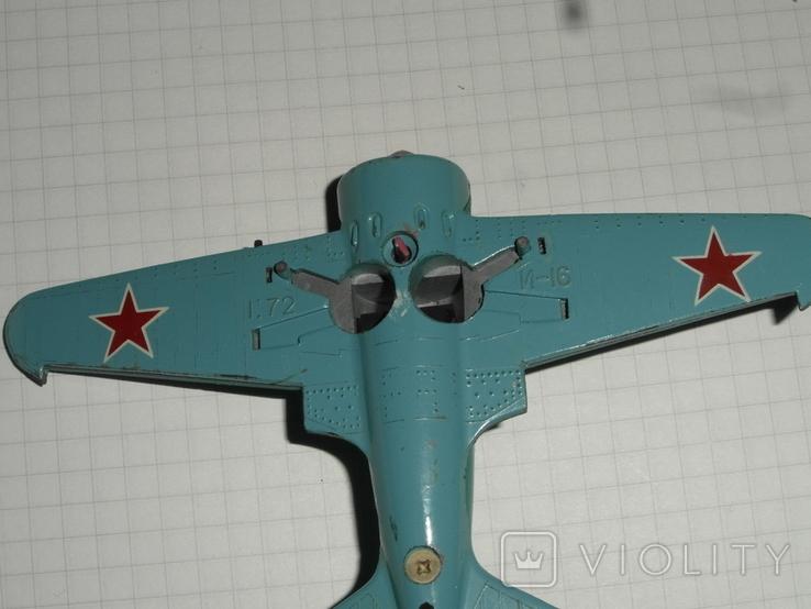 Самолёт И-16.металл.СССР, фото №7