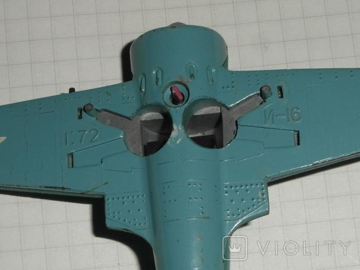 Самолёт И-16.металл.СССР, фото №8