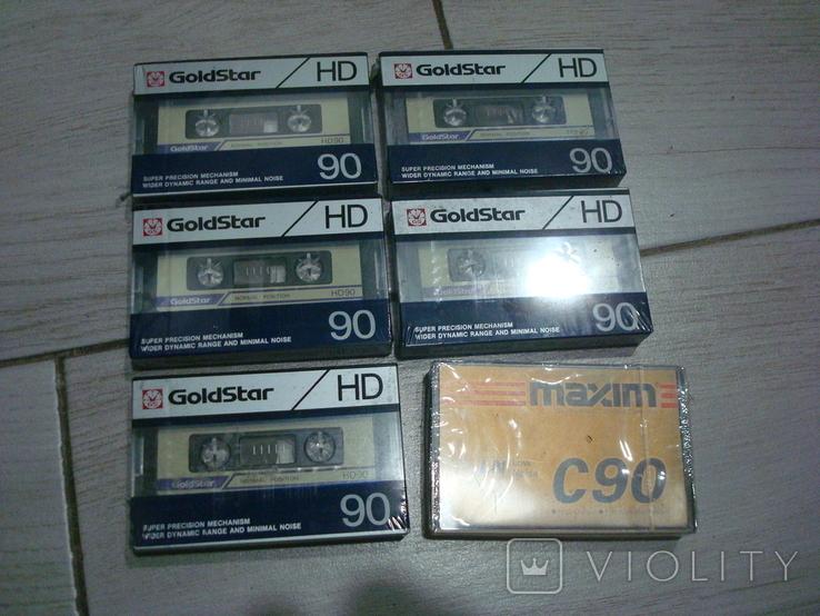Аудиокассеты запечатанные, фото №2