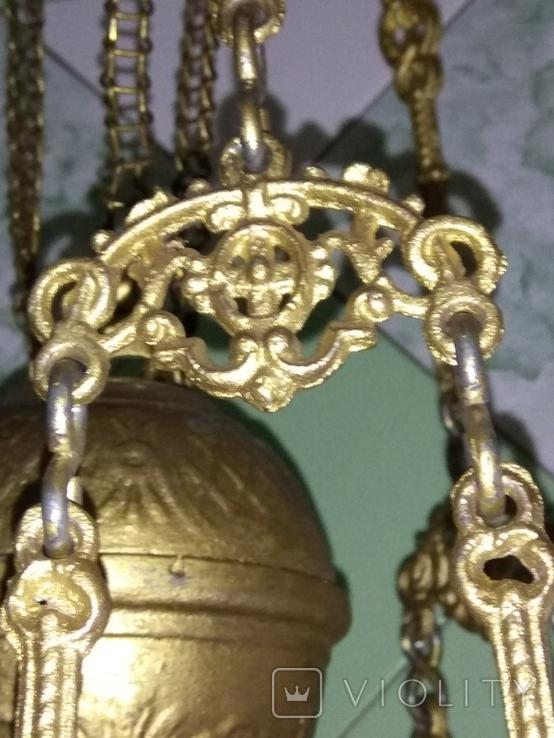 Потолочная керосиновая лампа., фото №8
