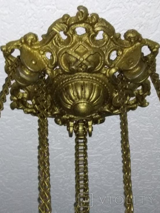 Потолочная керосиновая лампа., фото №9
