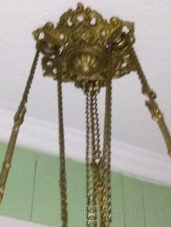 Потолочная керосиновая лампа., фото №11