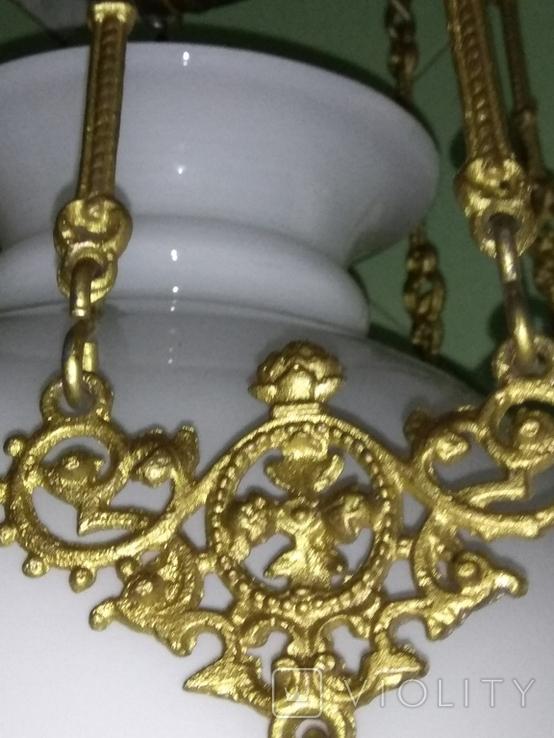Потолочная керосиновая лампа., фото №13