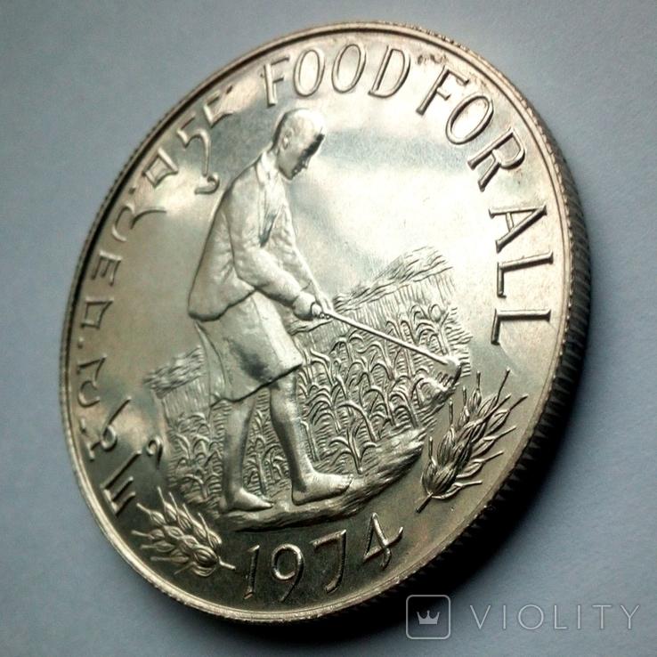 Бутан 15 нгултрум 1974 г. - ФАО - Еда для всех, фото №4