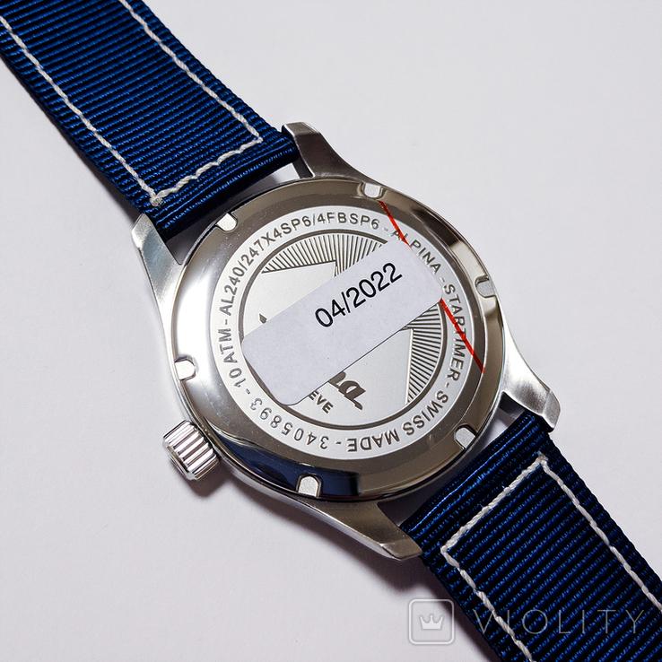 Часы мужские Alpina Startimer Pilot - Швейцария, новые, фото №5