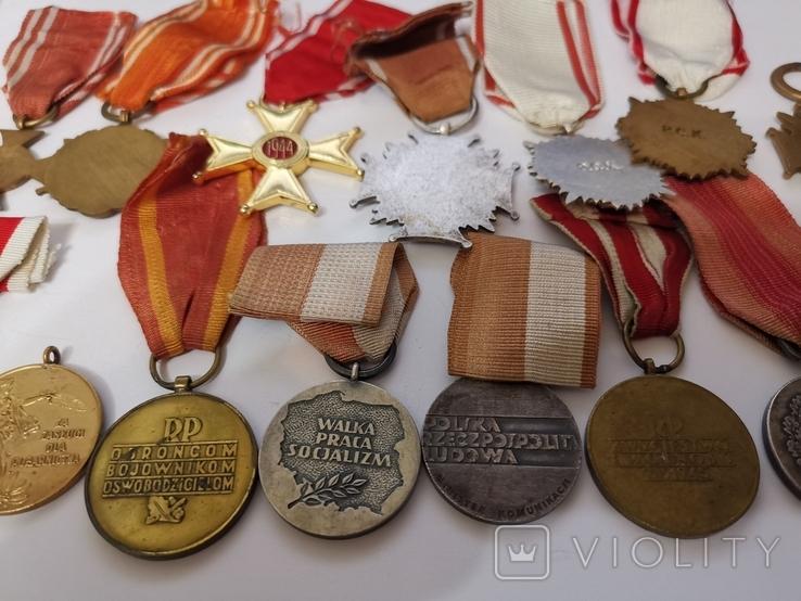 Набор из 14 наград Польша, фото №3