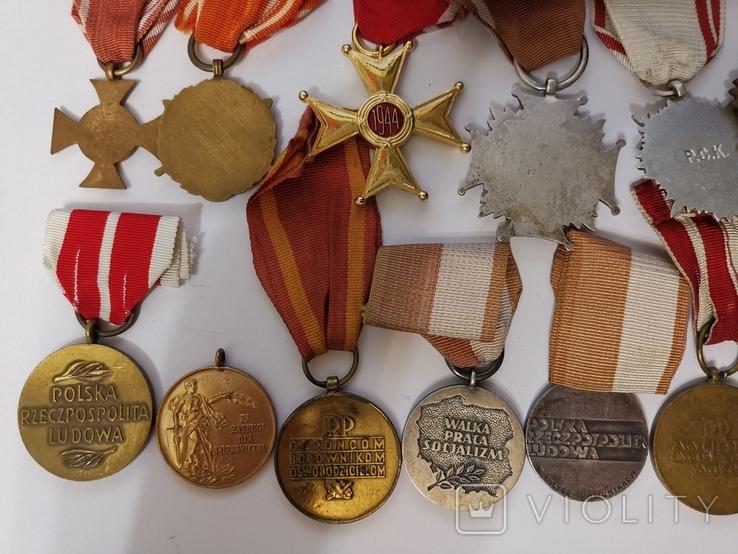 Набор из 14 наград Польша, фото №5