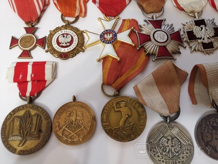 Набор из 14 наград Польша, фото №8