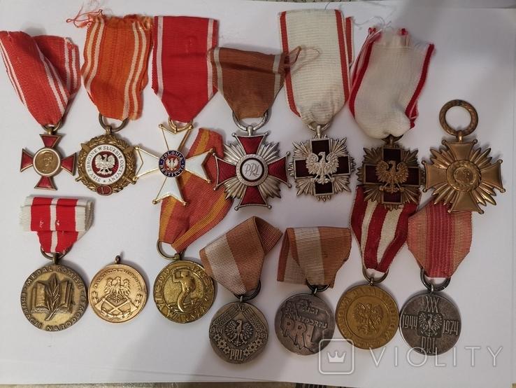 Набор из 14 наград Польша, фото №10