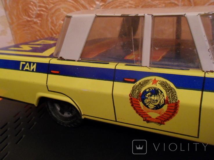 Металлическая машина ГАИ, 40 см., фото №6