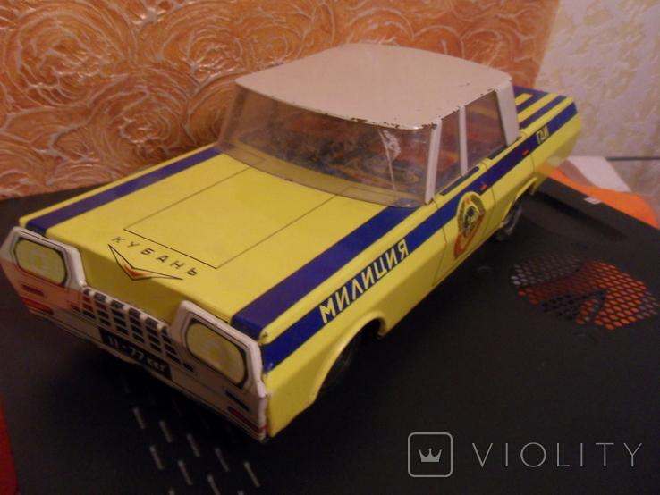 Металлическая машина ГАИ, 40 см., фото №10