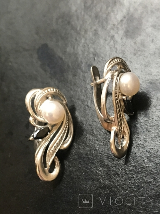 Сережки женские, фото №4