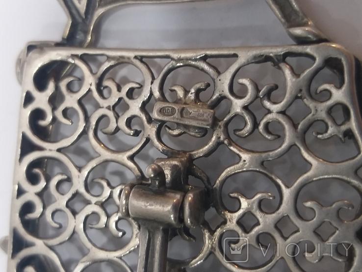 Серебряные фоторамкы 2шт. 800пр. 60г., фото №5