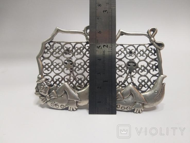 Серебряные фоторамкы 2шт. 800пр. 60г., фото №7
