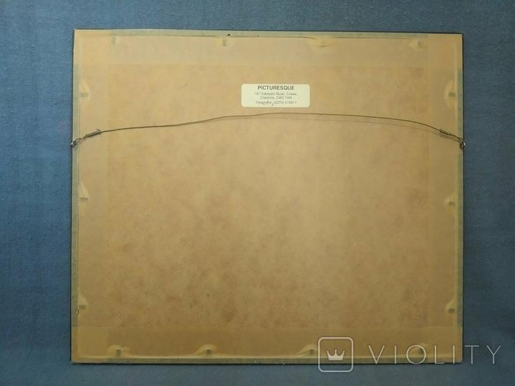 Таблица Вышивка для изучения Английского языка Рамка стекло, фото №5