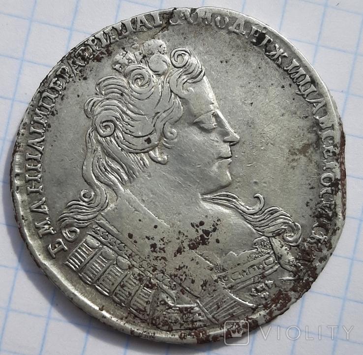 Рубль Aнна Иоанновна 1732, фото №2