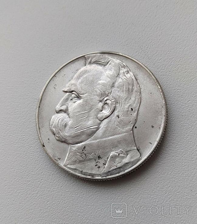 10 злотих 1935, фото №2