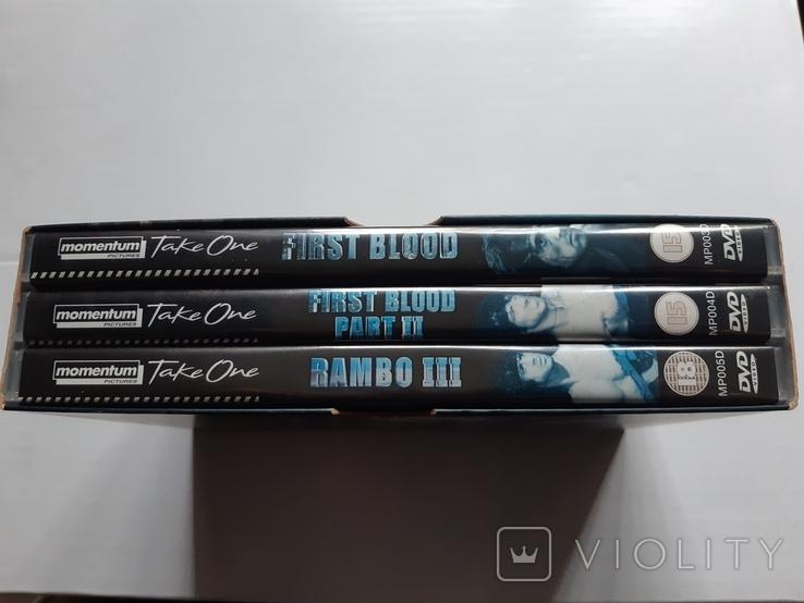 RAMBO dvd trilogy Box Set, фото №3