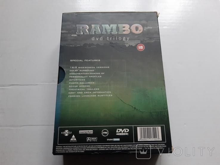 RAMBO dvd trilogy Box Set, фото №4