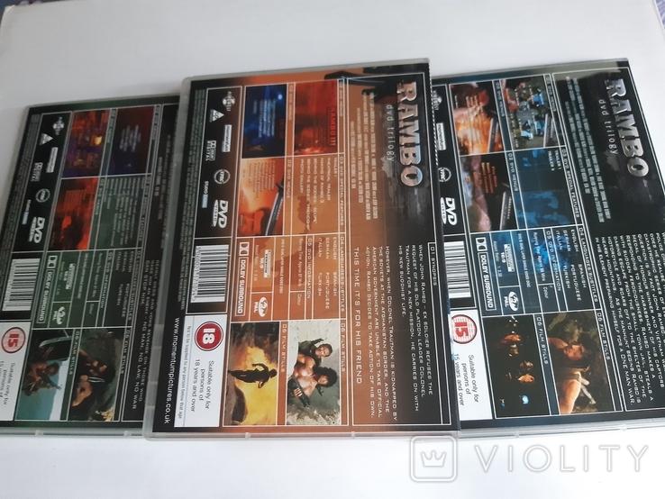 RAMBO dvd trilogy Box Set, фото №7