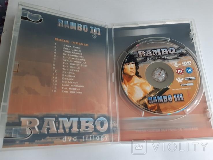 RAMBO dvd trilogy Box Set, фото №8