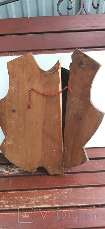 Нагрудная защита на щиту, фото №5