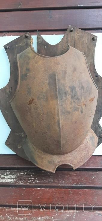 Нагрудная защита на щиту, фото №8
