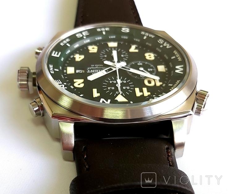 Orient FTT17004F0. Хронограф с компасом. Новые., фото №9