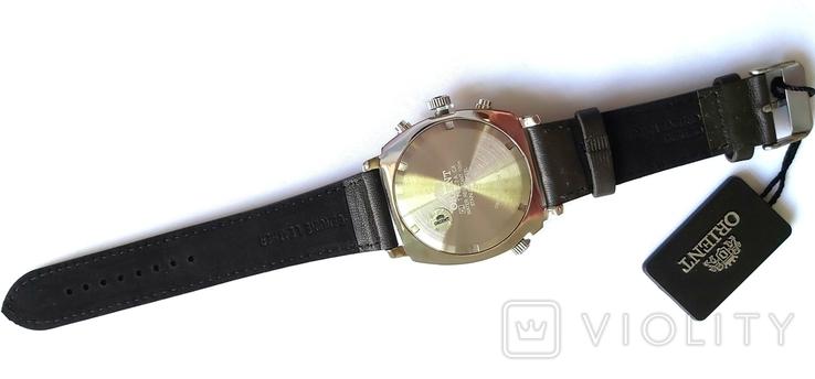 Orient FTT17004F0. Хронограф с компасом. Новые., фото №12