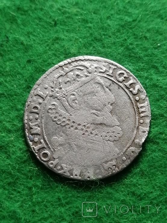 Шестак, 1625 року Сигизмунд - III, Серебра(Аg)3.26 грамма, фото №9