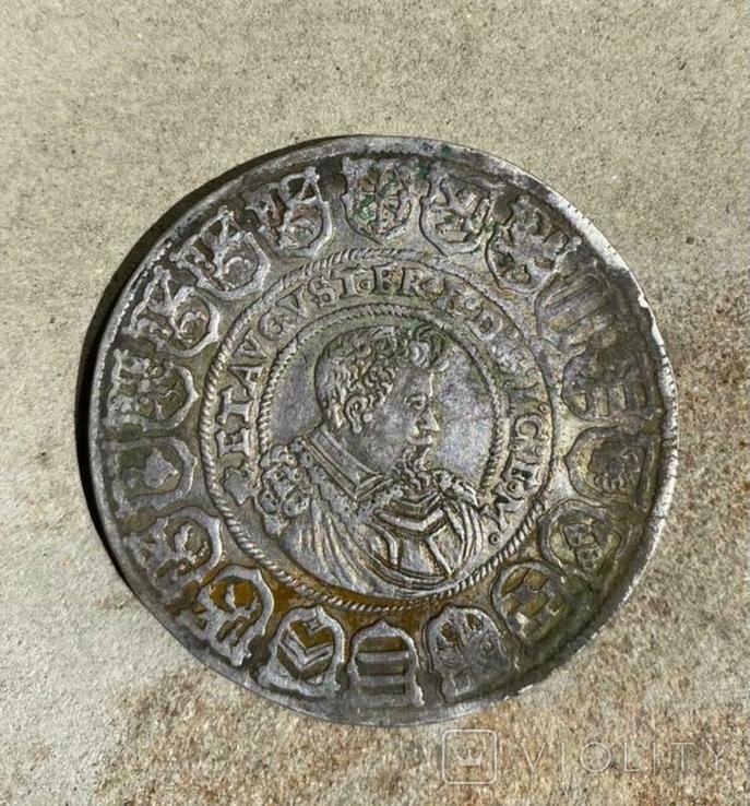 Талер Иоанна Георга 1614 года, Саксония( повторно в связи с не выкупом), фото №4
