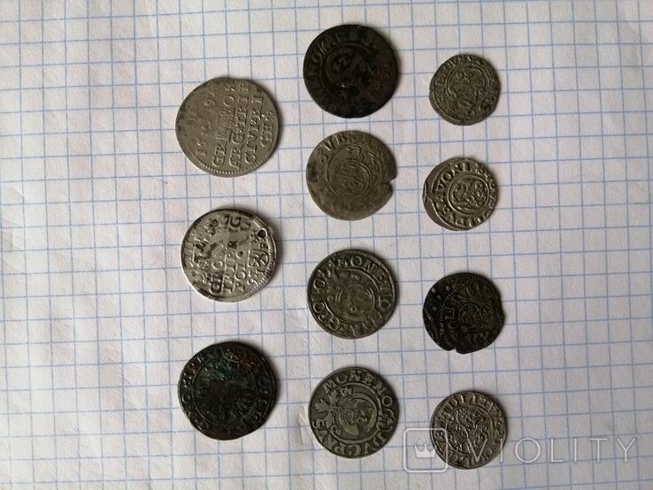 Трояк Рига и набор монет  , фото №12