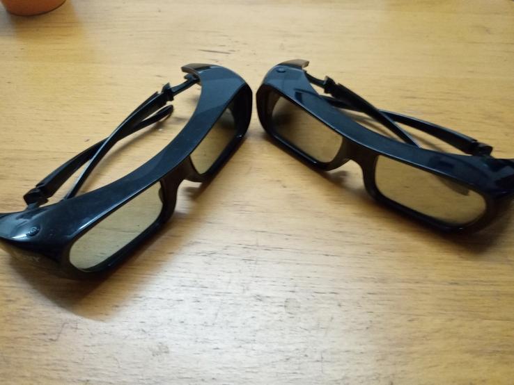 Активные 3D очки . 2 штуки. Samsung TDG BR-250, фото №2