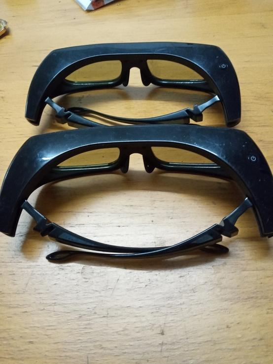 Активные 3D очки . 2 штуки. Samsung TDG BR-250, фото №3