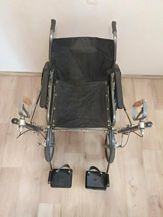 Инвалидная коляска с ручным приводом дорожная ДККС- 2-03-46, фото №3