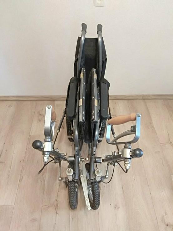 Инвалидная коляска с ручным приводом дорожная ДККС- 2-03-46, фото №5