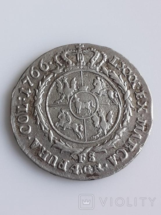 4 гроша.Станислав Август Понятовський 1766., фото №3