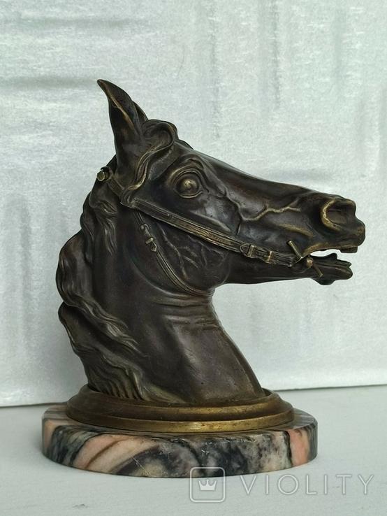 Голова лошади ( пепельница), фото №4