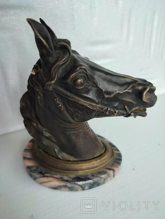 Голова лошади ( пепельница), фото №12
