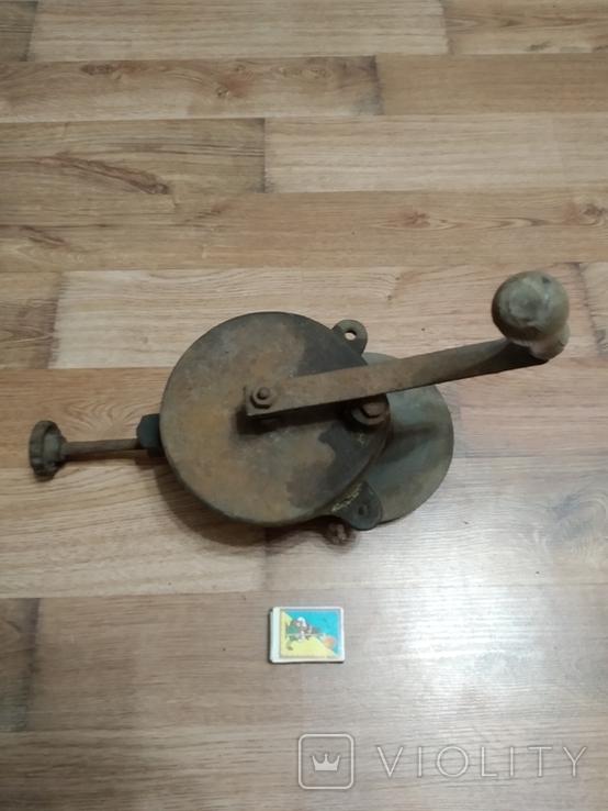 Старое, ручное точило, фото №4
