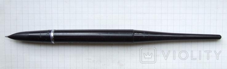 Перьевая ручка АР-24 для набора. Пишет мягко и насыщенно. Перо гибкое