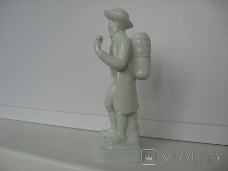"Статуэтка Wallendorf ""Путешественник"", фото №5"