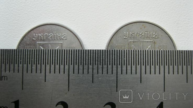 """Монеты 1 копейка 2004 год 1.1 ВА + монета 2 копейки с браком """"выкус"""", фото №10"""
