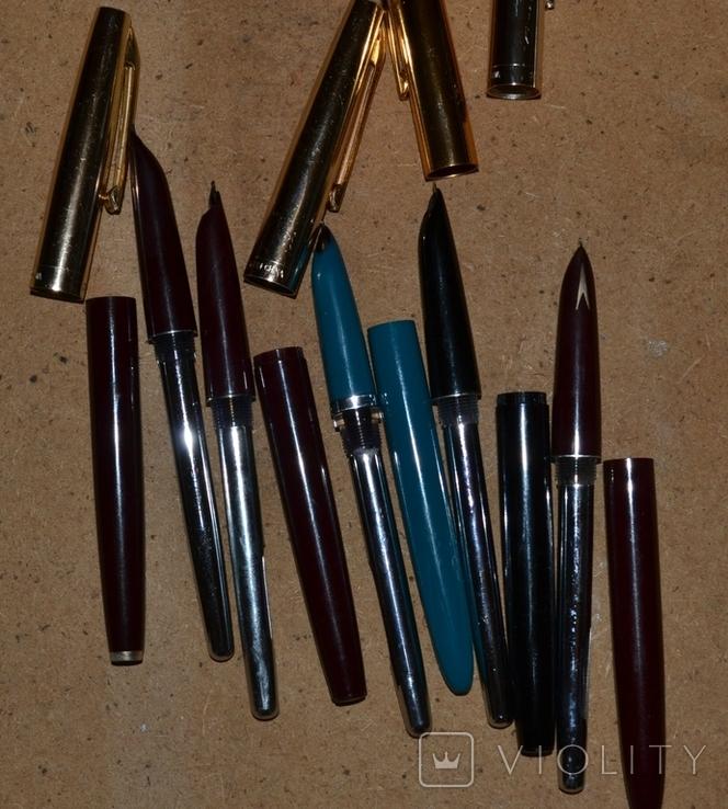 Ручки перьевые - Китай(Hero, Heero, Youth) ,5шт.., фото №5