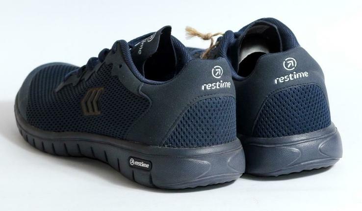 Летние кроссовки Restime - синие, фото №6